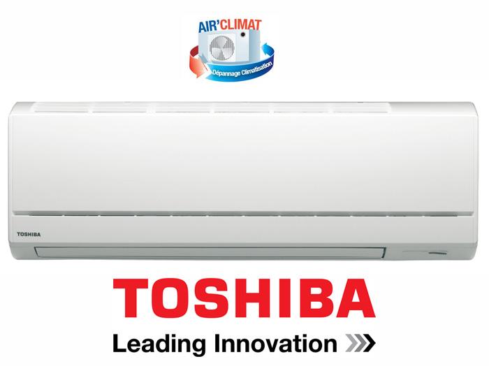 Dépannage climatisation Toshiba
