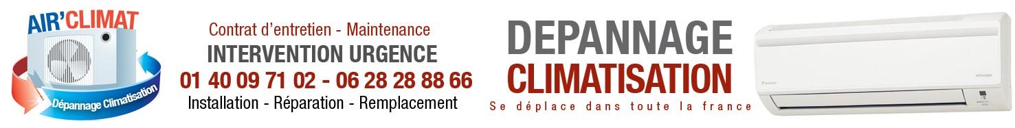 Dépannage Climatisation